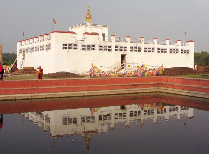 Visiting Lumbini, the birth place of buddha -  Maya Devi Temple.