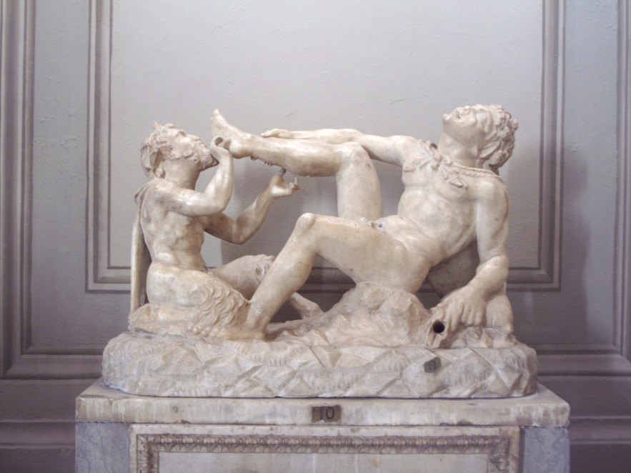 weird sculptures of Rome