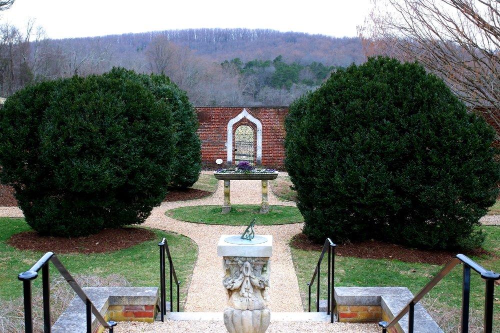 Visting James Madison's historical property.