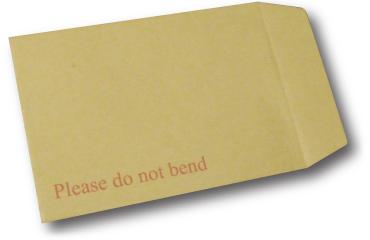 Hardbacked Envelope