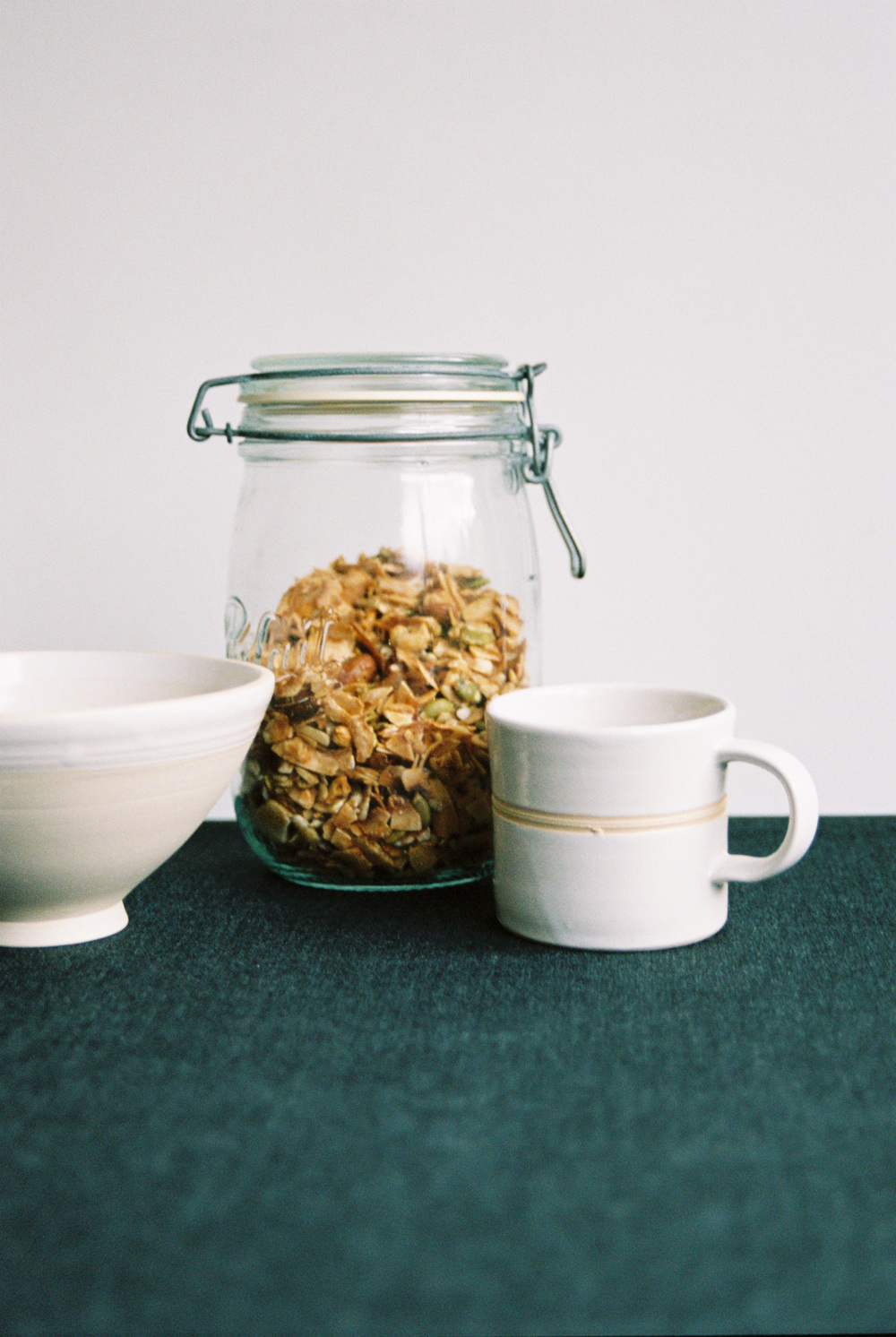 Handmade cereal bowl and coffee mug by Jane Sarre Ceramics.jpg