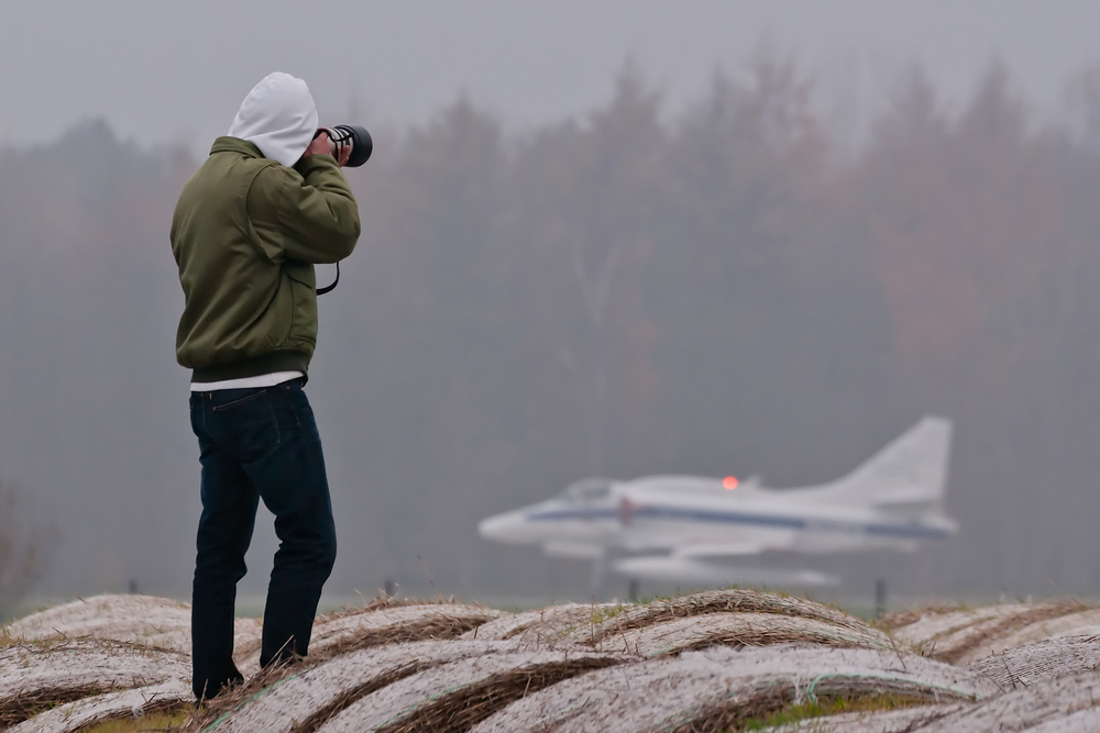 Catching a Scooter at Wittmund. (Germany) Photo: Hans Scholtens