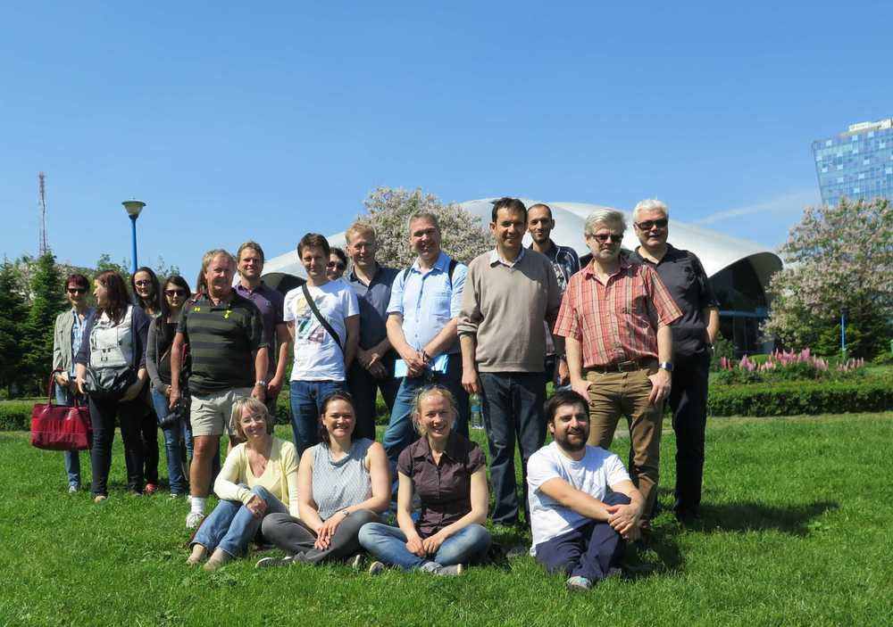 A large group attended the field trip following the workshop in Bucharest city, Romania.