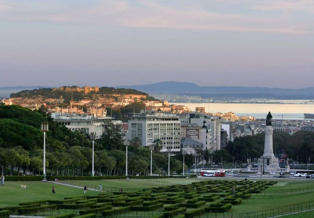 Parque Eduardo VII in Lisbon, Portugal