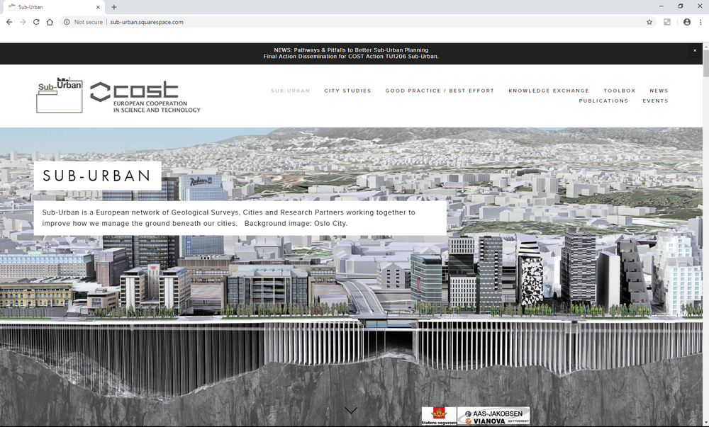 Sub-Urban Project Website