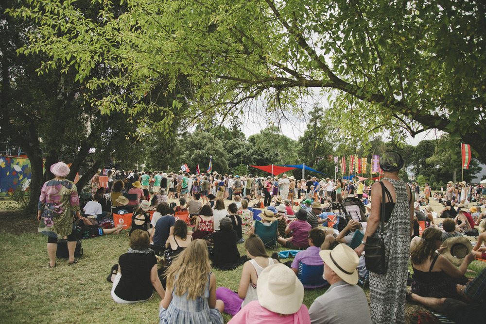 The crowd at WOMAD