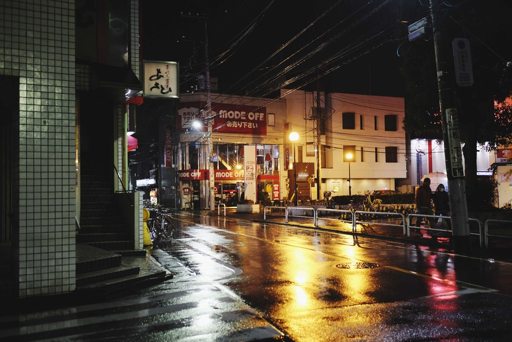 We arrived in Tokyo around 6pm and it was already dark and raining. We were starving and decided to head to CoCo Curry House and also bought some heat packs on the way home because it was freezing. The next morning we headed to Kyoto!
