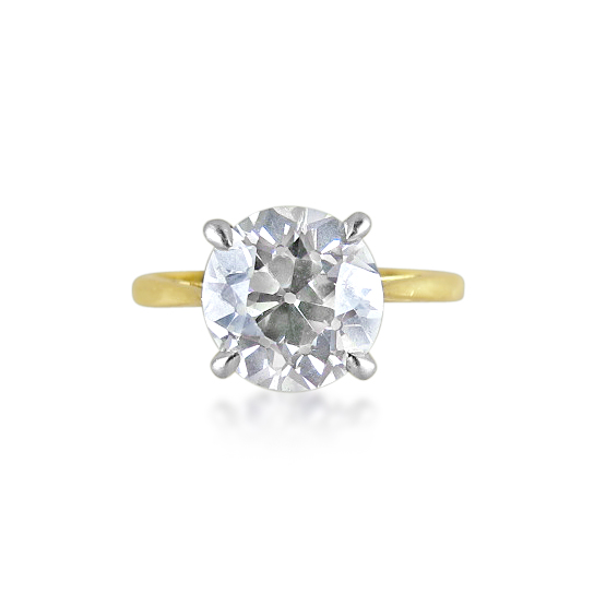 single-stone diamond ring