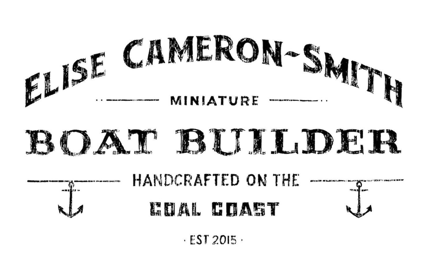 Elise Cameron-Smith - Miniature Boat Builder