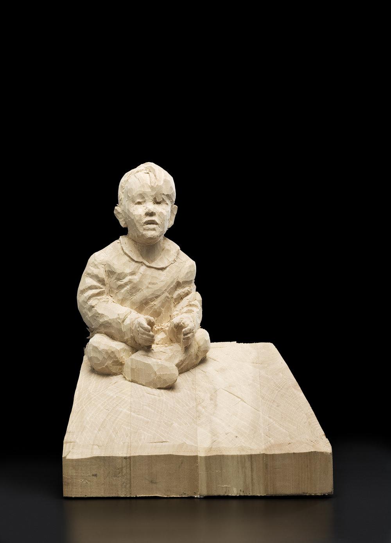 Andreas Hupp, Selbstbildnis als Kind, 2008