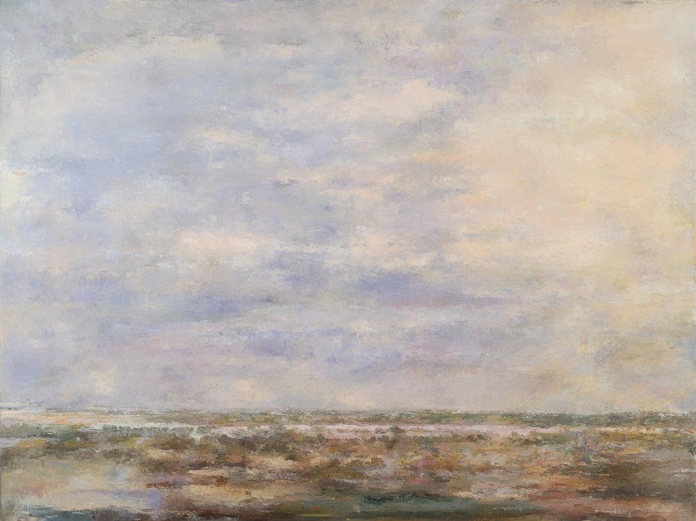 Abbildung: Lindsay Mullen, At Bay, 90x120, Öl auf Leinwand, 2016