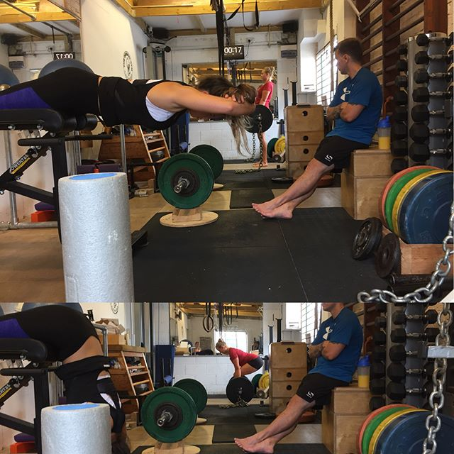 "Another Saturday morning ""Lift, Jump"" session. We did specific activation and mobility work, jumping and balancing skill development work, and then a big emphasis on posterior chain strength with deadlifts and back extensions, before heading to the park for a barbecue :) #cambridge #cambridgefitness #personaltrainercambridge #theoriginalgym #theoriginalgymliftjump #cambridgetown"
