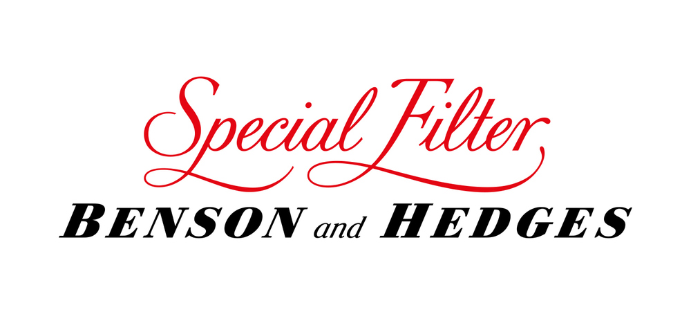 Lettering Special Filter script and Benson and Hedges
