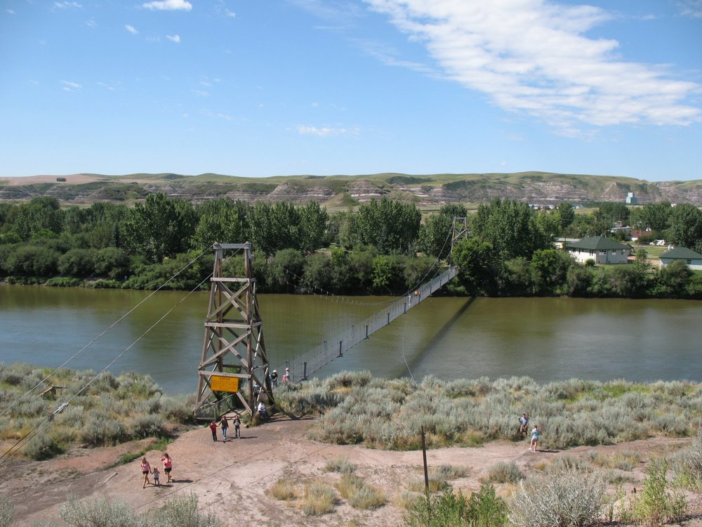 Star Mine Suspension Bridge - Photo via Wikipedia