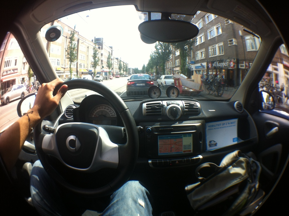 Car2Go Interior