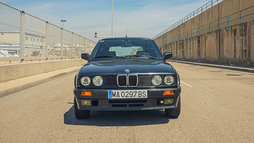 Our latest vintage vehicle imported from Europe - an e30 BMW 325ix Touring