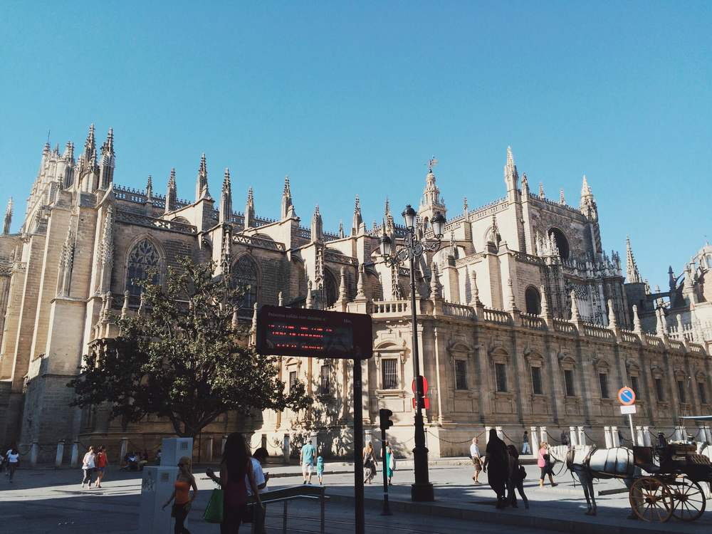 Sevilla is a city steeped in both antiquity and modernity.