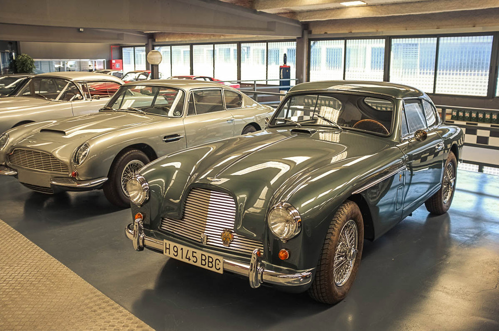 Some of the other fabulous motorcars that surrounded the little Fulvia when we went to see it...