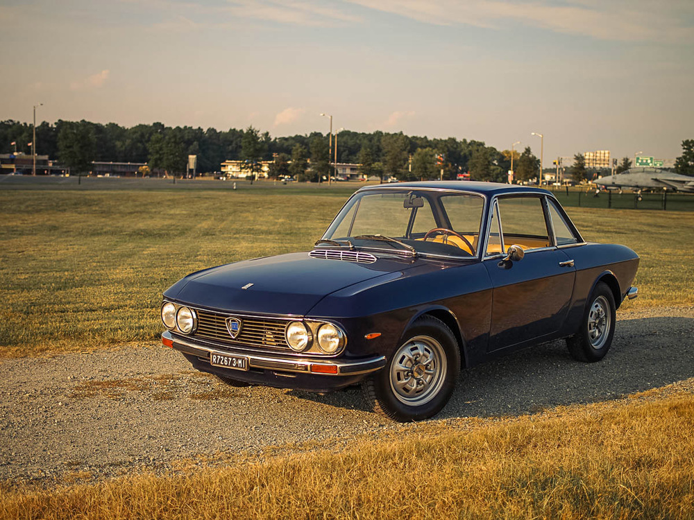 Our latest vintage car imported from Europe - a classic Lancia Fulvia 1.3S