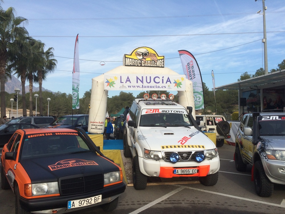 The ceremonial start in La Nucia, Spain took place more than 500kms from the beginning of the first timed stage.