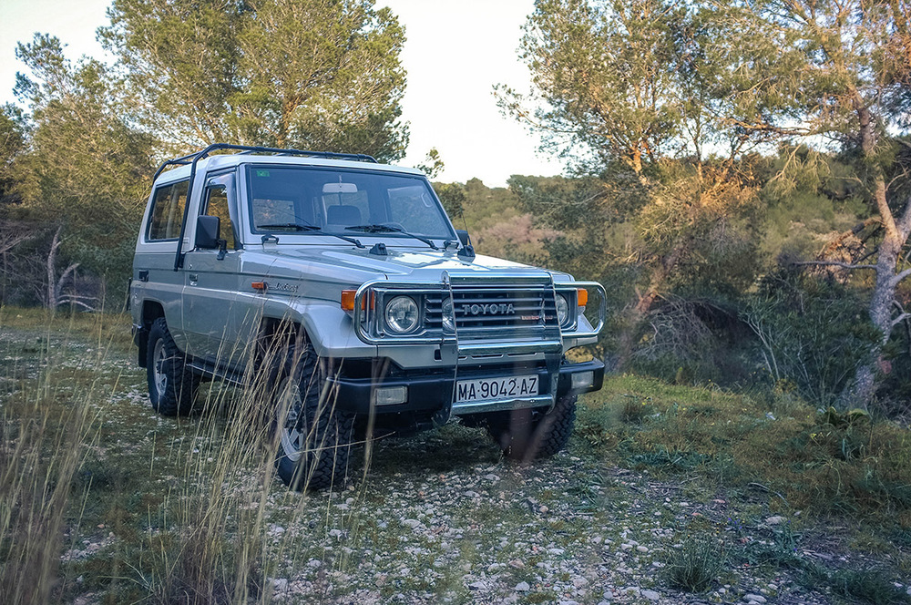 Our 1991 Toyota BJ73 Land Cruiser, imported from Europe