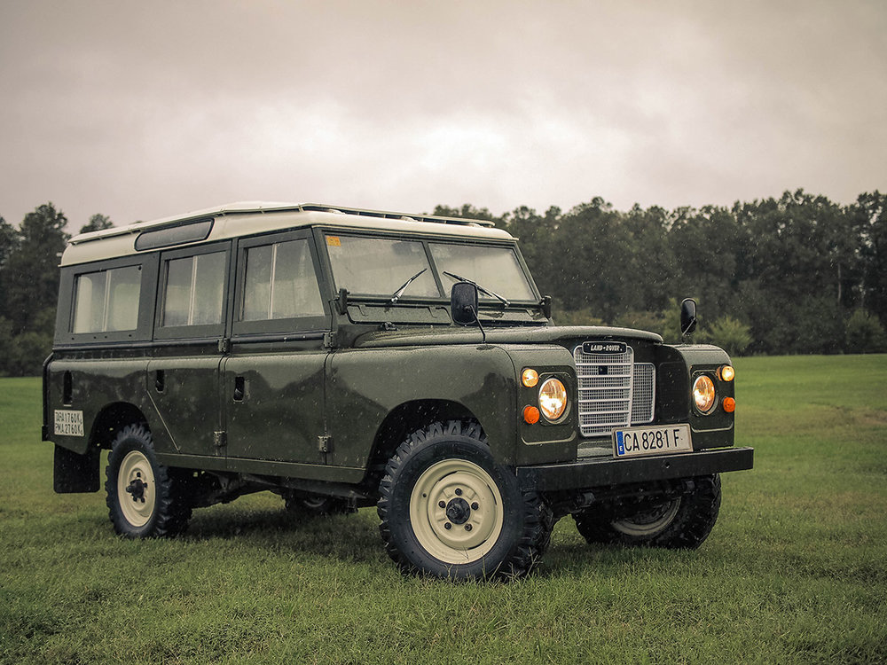 1976 Land Rover Santana Series III 109 Station Wagon, imported from Europe