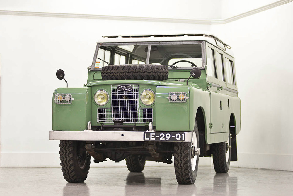 1965 Land Rover Series IIA 109 Station Wagon, imported from Europe