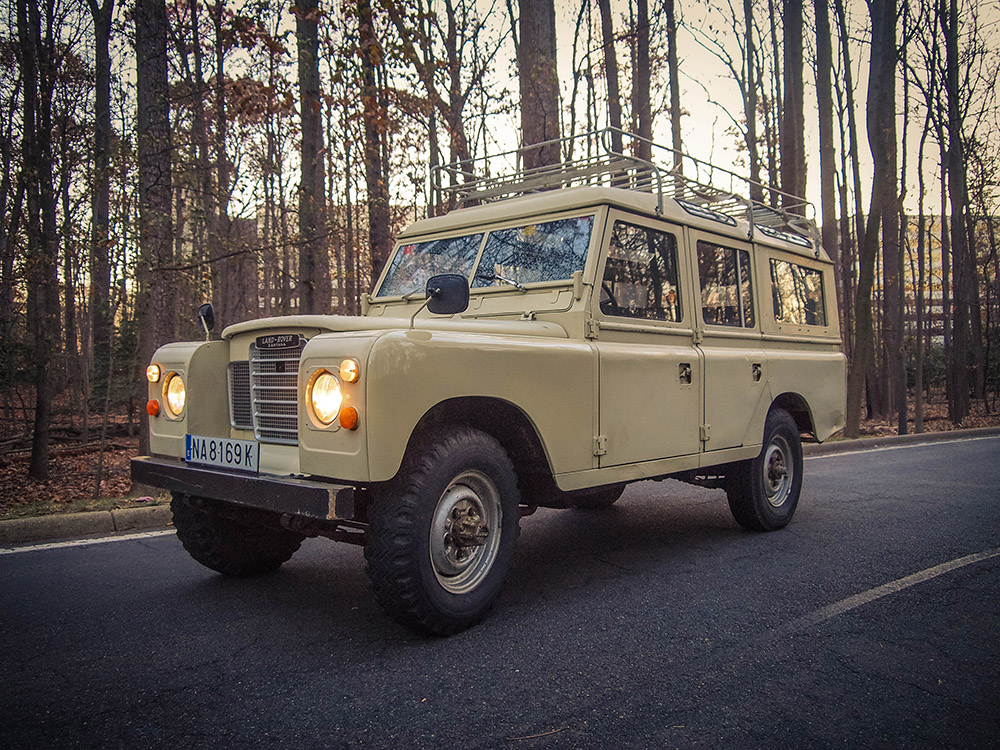 "1981 Land Rover Santana 109 ""Station Wagon"" (Series III) Purchased in Baños de la Encina, Spain  -  Sold to Michael F. of North Carolina for $14,000 ""I love the truck!  I take it into the mountains all the time, and haven't had a single problem.""      - Michael F."