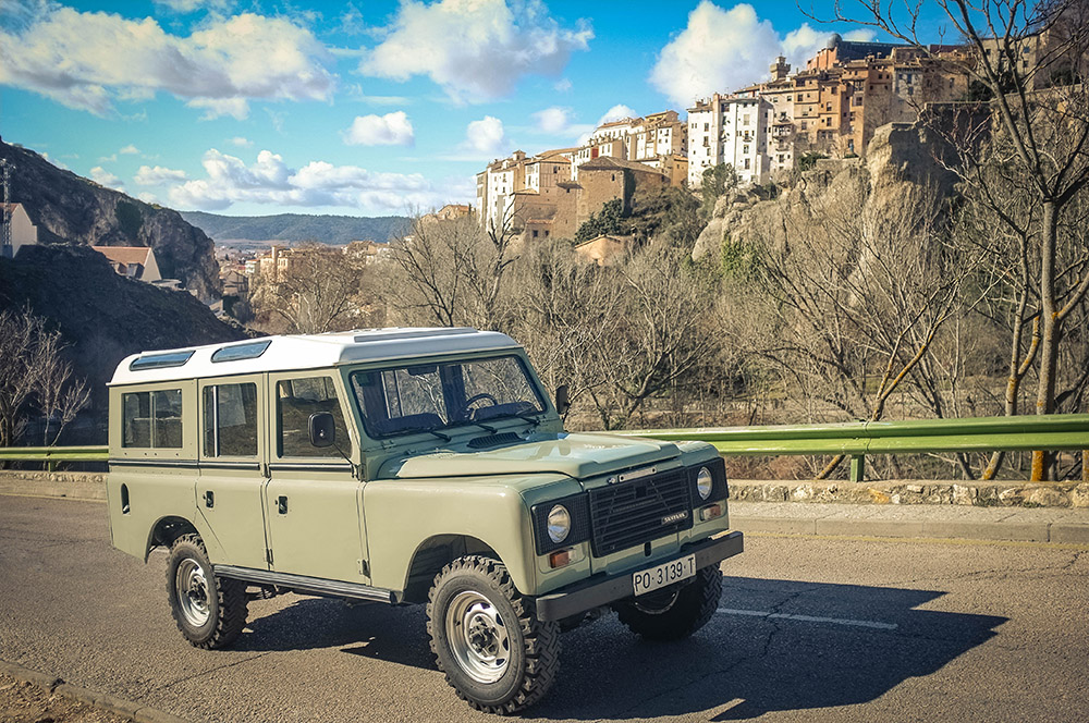 1983 Land Rover Santana 109 Station Wagon (Series IIIA) Purchased in Santiago de Compostela, Spain  -  Sold to Anne O. of Baltimore, MD for $20,000