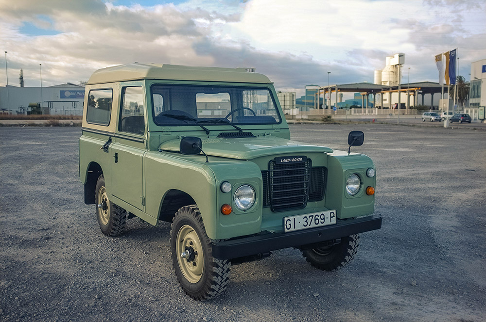"1982 Land Rover Santana 88 (Series III) Purchased in Sanlucar de Barrameda, Spain  -  Sold to Henry P. of Long Island, NY for $17,000 ""The Landy is great!!  All freshly serviced and ready to go for summer.  Thank you very much!""      - Henry P."