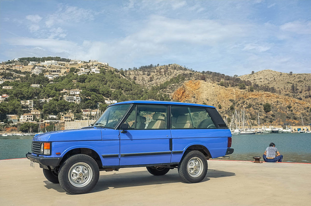 1986 Land Rover Range Rover Turbo D Purchased in Madrid, Spain  -  Sold to Cinema Vehicle Services of Hollywood, CA for $15,700