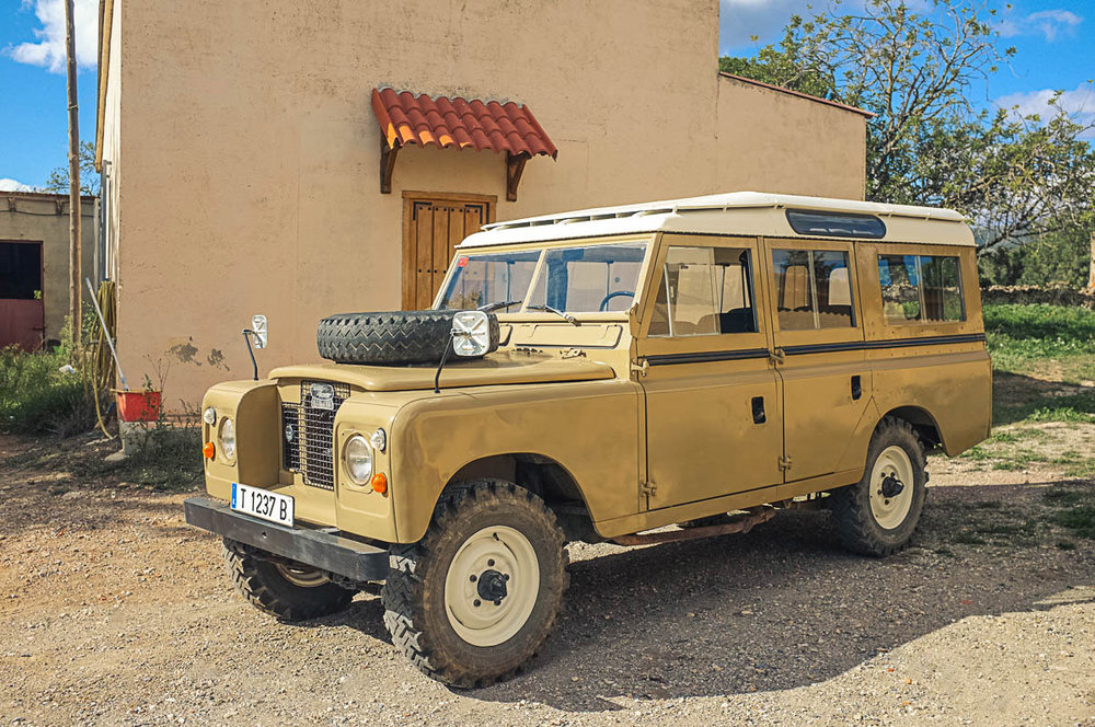 1973 Land Rover Santana 109 Station Wagon  (Series IIA) Purchased in Valls, Spain  -  Sold to Nick E. of Richmond, VA for $18.500