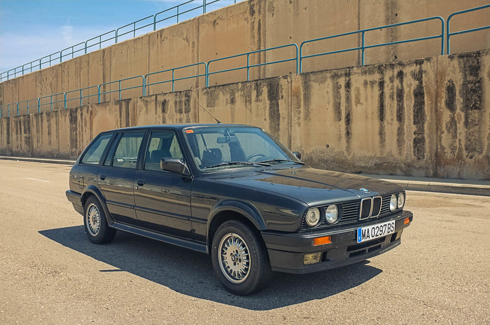1989 BMW 325ix Touring Purchased in Valencia, Spain  -  Sold to Carl N. of La Jolla, CA for $12,000