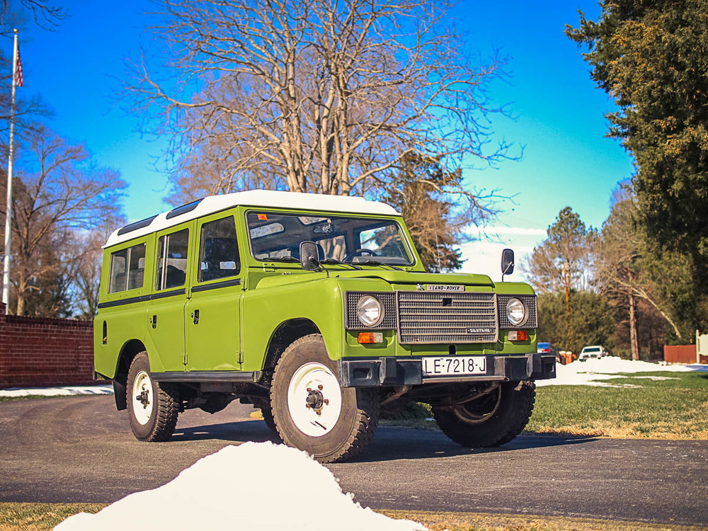 1983 Land Rover Santana 109 Turbodiesel Station Wagon (Series IIIA) Purchased in Leon, Spain  -  Sold to Dan M. of Steamboat Springs, CO for $21,500