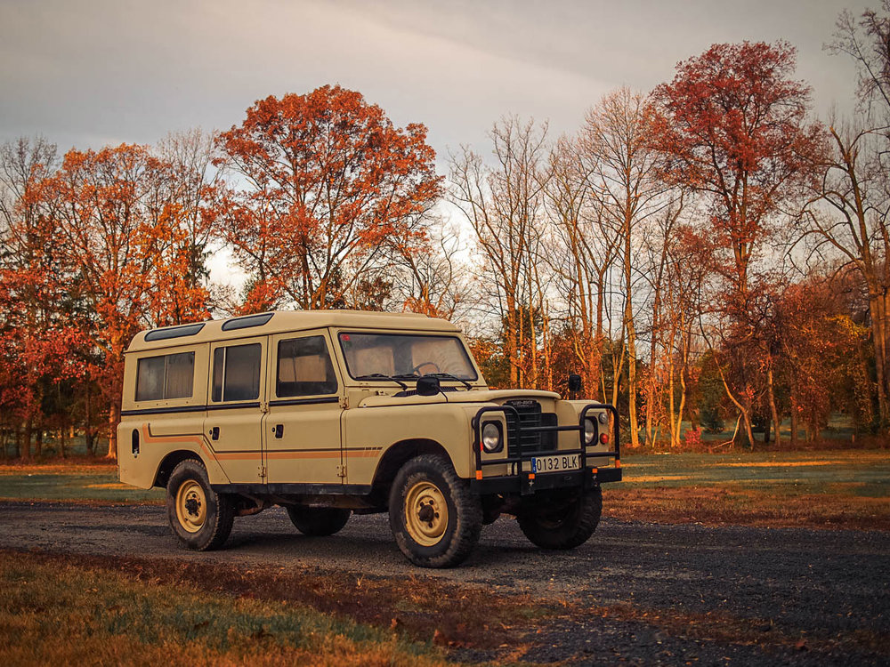 1981 Land Rover Santana 109 Station Wagon with Overdrive (Series III) Purchased in Jaen, Spain  -  Sold to Michael M. of Coeur d'Alene, ID for $13,500