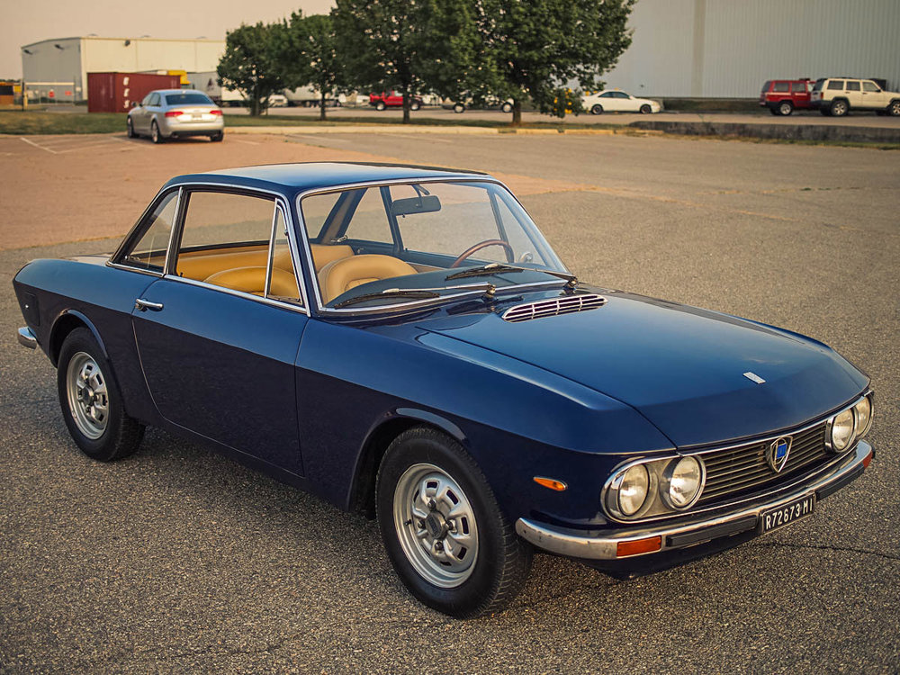 1972 Lancia Fulvia 1.3S Coupe Purchased in Milan, Italy  -  Sold to Matt M. of Napa, CA for $23,000
