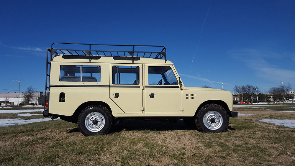 1987 Land Rover Santana 109 Station Wagon (Series IIIA) Purchased in Los Villares, Spain  -  Sold to Robert P. of Columbia, SC for $14,500