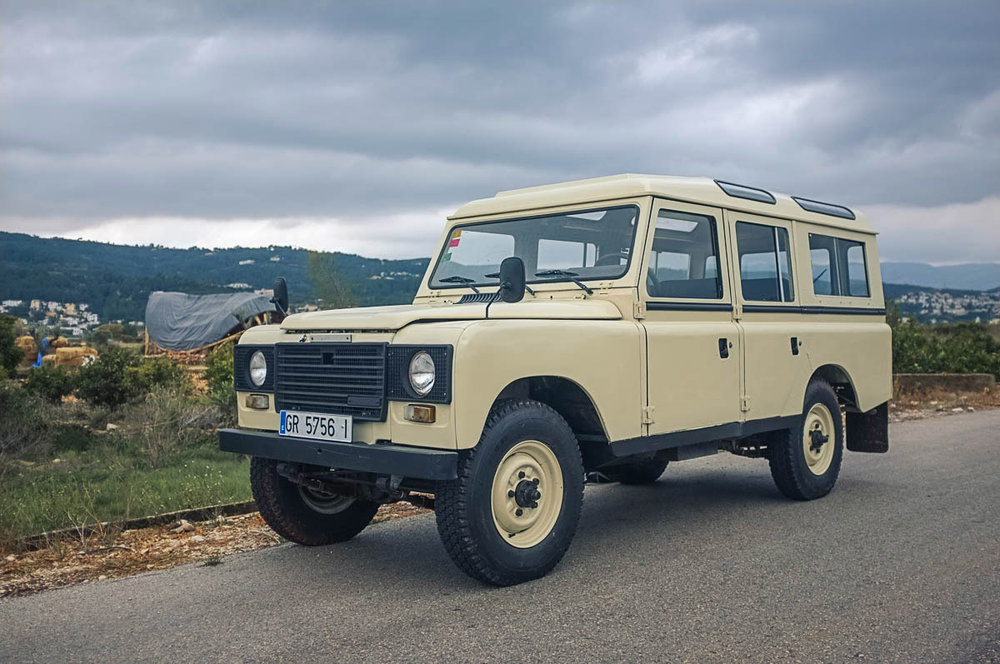 1983 Land Rover Santana 109 Station Wagon (Series IIIA) Purchased in Priego de Cordoba, Spain  -  Sold to Sean S. of Mt. Holly, NC fr $18,000