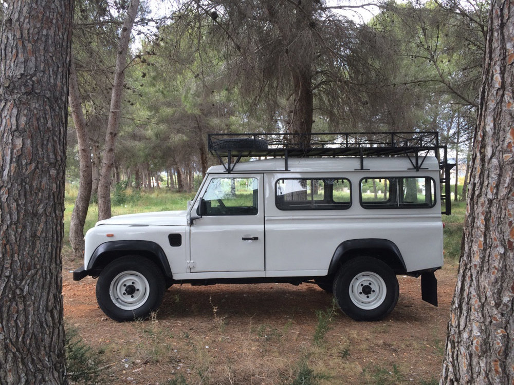 1991 Land Rover Defender 110 200 tdi Two-Door Purchased in Jaen, Spain  -  Sold to Brian M. of Colorado Springs, CO for $22,000