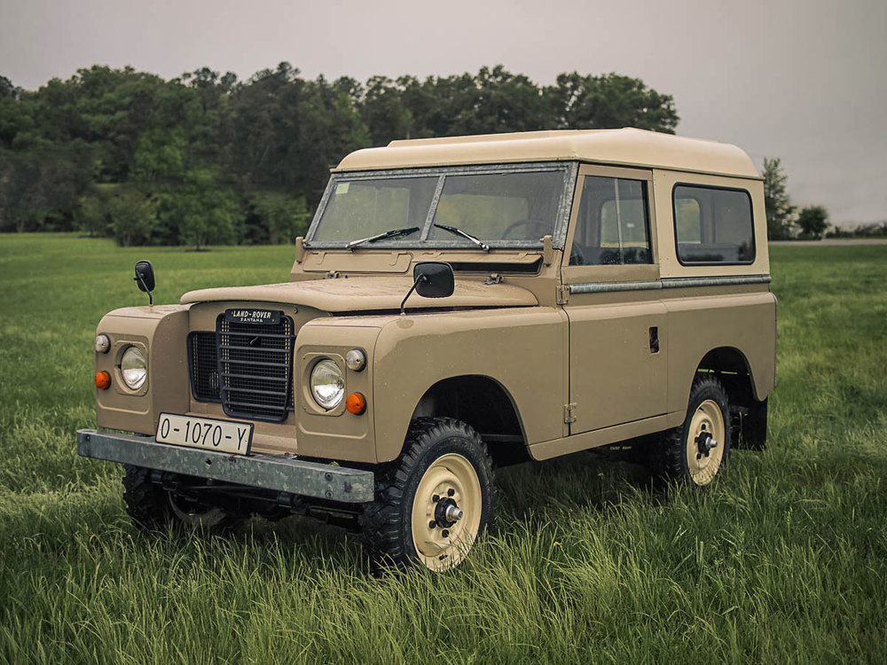 1982 Land Rover Santana Series III 88 Purchased in Cangas de Narcea, Spain  -  Sold to Daniel K. of Tulsa, OK for $16,000