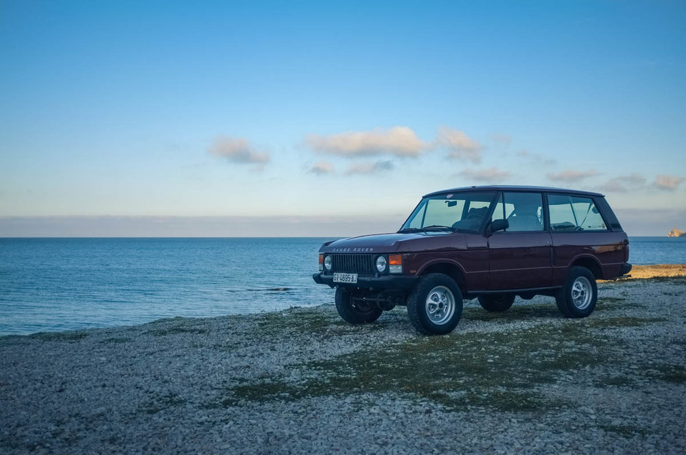 1989 Land Rover Range Rover Classic, 2-Door Purchased in Barcelona, Spain  -  Sold to Jonathan B. of Charleston, SC for $16,500