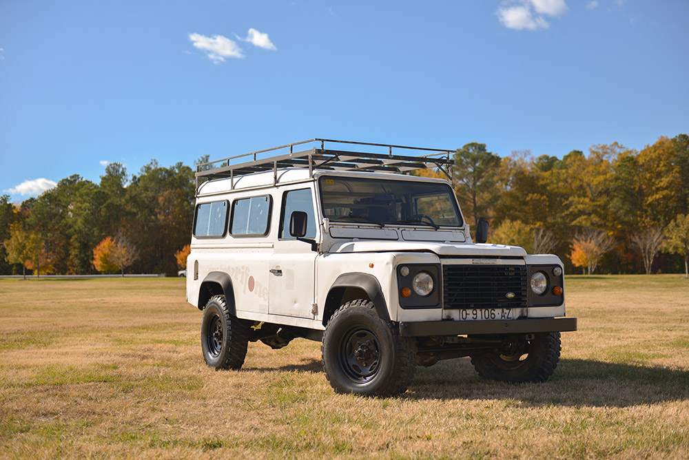 1991 Land Rover Defender 110, 2-door. Sold to Francis G. of Grovetown, GA for $23,000