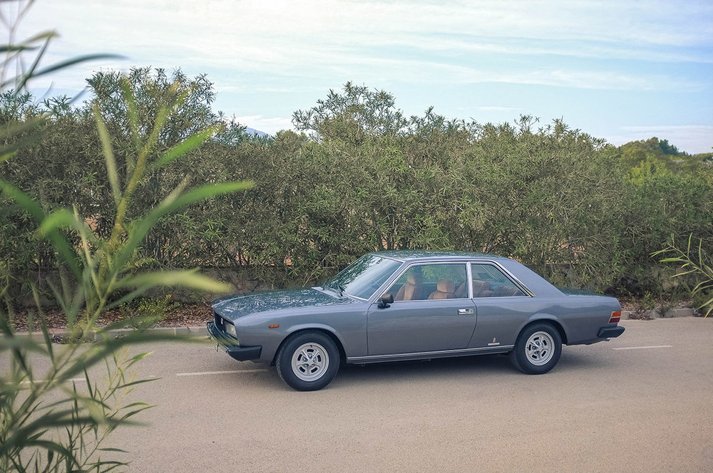 1975 Fiat 130 Coupe, 5-speed Purchased in El Escorial, Spain - Sold to Tom M. of Huntington, NY for $22,000