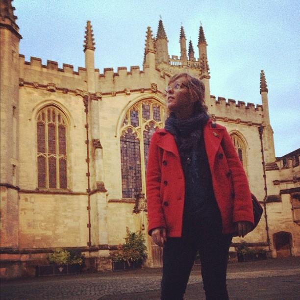 sarahmcintyre: Magdalen College #Oxford @LucyKnisley