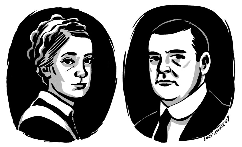 Downton doodles.