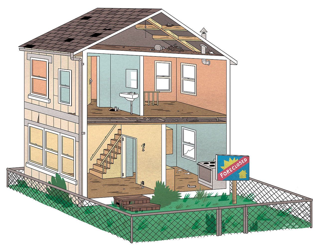 A house I drew for a Time Out Chicago piece a few weeks ago. Dollhouses are pretty much the best toys of all time.
