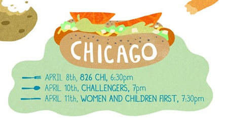 My last Chicago event (until the CAKE fest in June!) is tonight. This tour has been amazing, so far!