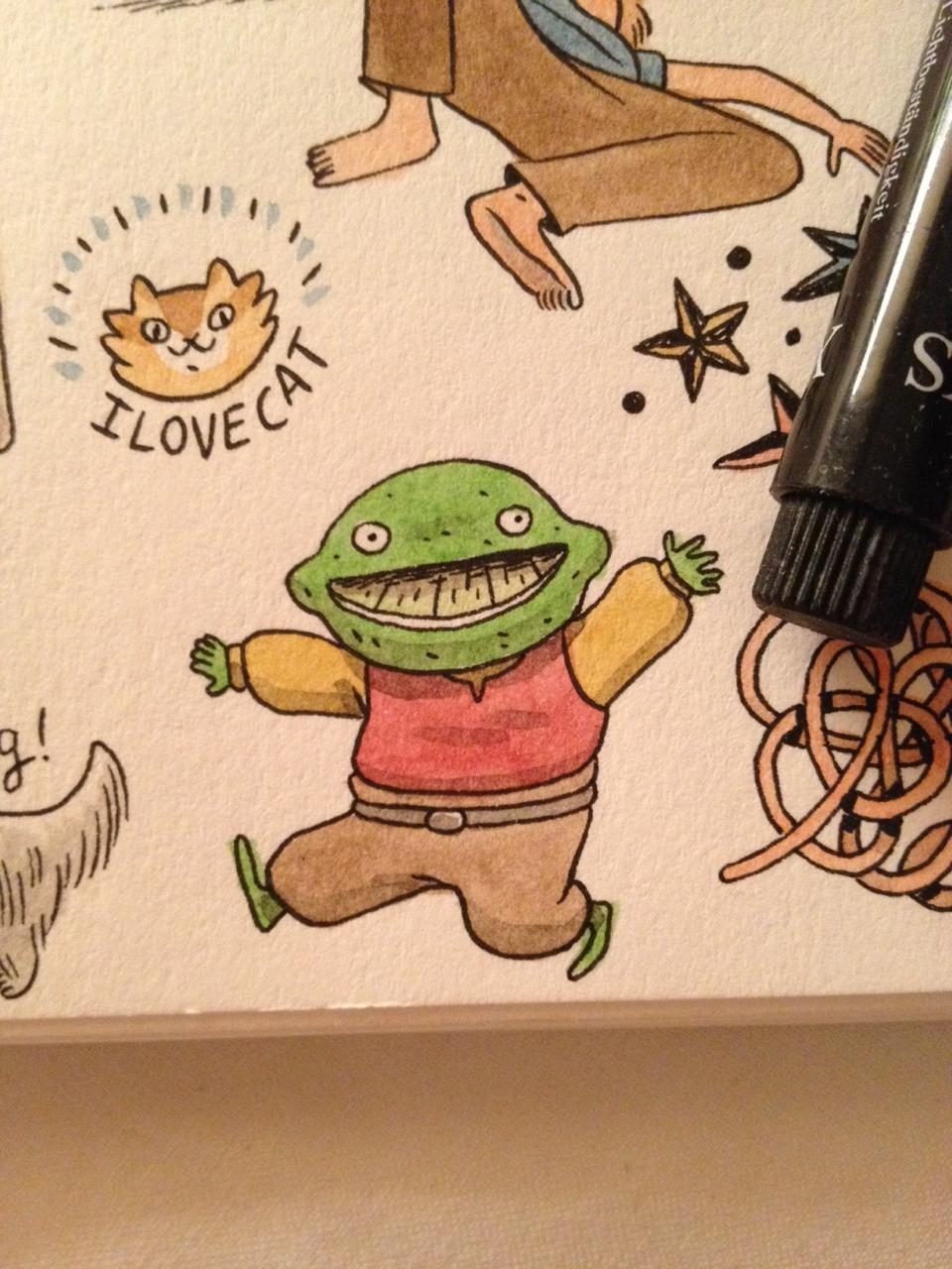Lime friend.