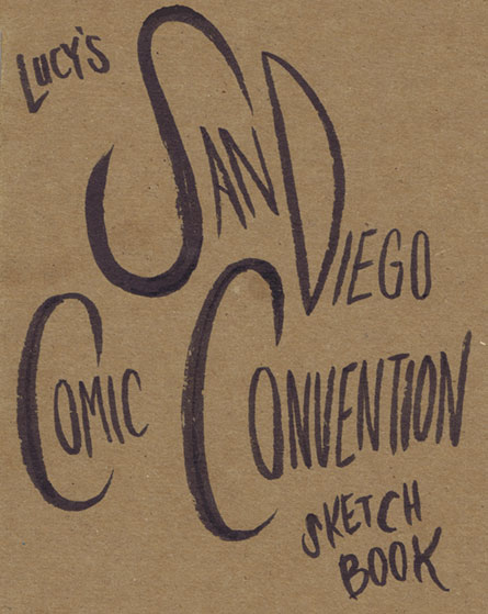I was incredibly lucky to get to go to SDCC as a special guest this year! I had a rad time, and doodled a lot while I was there. Check out my rambly sketchbook from the week!