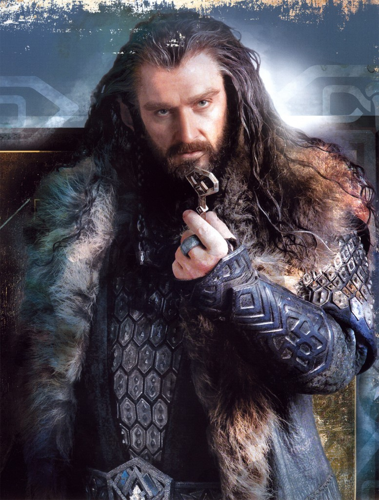fiberistanora: All I could think while watching the Hobbit last night was how much I wanted to print fabric yardage of Thorin Oakenshield's armor… I mean, right?! I want drapey t-shirts made outta that shit! Anyone else? MEEEE.